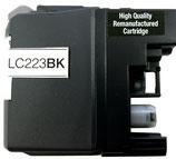 Wiederbefüllte Originalpatrone wie Brother LC 223 black