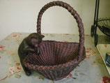Rust Cat ハンドルバスケット