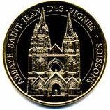 Médaille touristique Abbaye Saint-Jean-des-Vignes