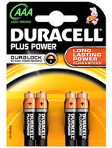 Duracell Batterie Plus Power