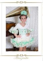 Vestido de flamenca Manzanita.