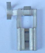 COSSE FEMELLE PLATE DRAPEAU LARGEUR 9.5mm
