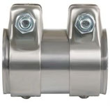 JONCTION ETANCHE DOUBLE PAROIS INOX DIAMETRE 50mm