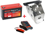 PACK BATTERIE SECHE ODYSSEY EXTREME 30 + BAC ALU + CHARGEUR