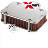 BOITE A AIR POUR CARBURATEUR WEBER / SOLEX / DELLORTO H:45mm