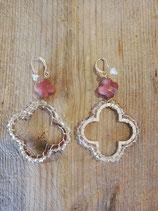 Lovely pink earring
