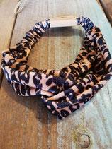 Trendy panter print haarband