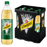 Schweppes American Ginger Ale 6x1,0l PET MW