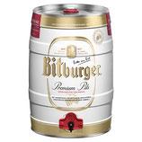 Bitburger Pils 5,0l Partyfass Dose
