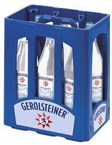 Gerolsteiner Naturell 6x1,0l Glas MW