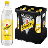 Schweppes Indian Tonic Water 6x1,0l PET MW