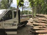 Lieferung Brennholz