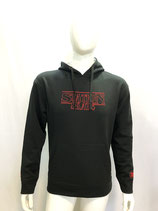 HOODIE model  STRANGER color BLACK