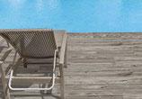 Dalle terrasse St Malo Grey Double épaisseur en 30x120