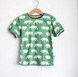 Bio Shirt Bär grün