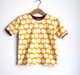 Shirt Äpfelchen gelb