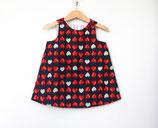 Kinder Kleid Erdbeere