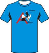Aikido Motiv mit Namen