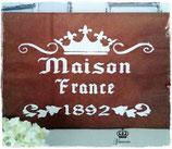 Glamorös Handmade Stencil - Maison France A4