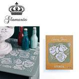 Annie Sloan ™ Stencils A4 - Roses