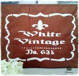 Glamorös Handmade Stencil - White Vintage A4