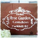 Glamorös Handmade Stencil - Rose Garden A4