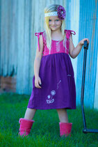 Make A Wish Pinafore Dress