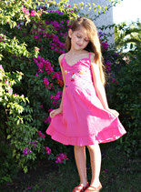 Sol Baby Pink Sundress