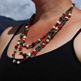 Acai Berry Statement Necklace -Multicolor