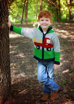 Gray Truck  Eric Knit Zip Hoodie- Boy