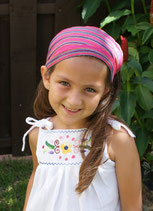 Pink hues headband