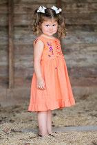 Lily Criss Cross Dress Apricot