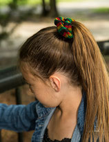 Hair scrunchies -RASTA