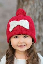 Red Wool Lara Beanie /Hat