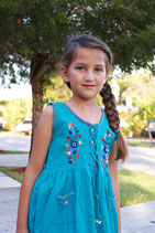 Lily Baby Teal Dress