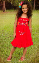 Tita Dress Poppy Red