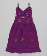 Sol Baby Purple Sundress