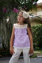 Rachael Ibiza Lavender Top