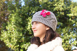 Butterfly Pink Wool Beanie /Hat