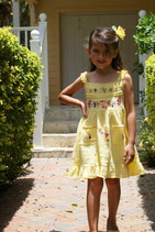 SALE- Tita Dress Yellow