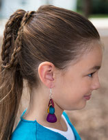 Thalia Fashion Earrings- Multicolor