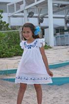 Amelia Azulejo Dress