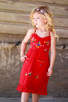 Sol Red Sundress