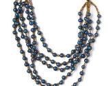 Ronda Statement Necklace -Blue