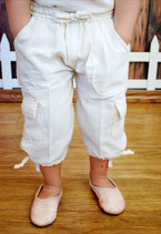 Natural Ivory Alba Pants