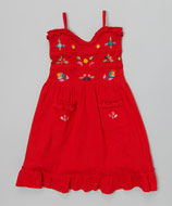 Sol Baby Red Sundress
