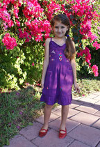 Sol Purple Sundress