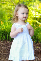 Wendy Baby White Sundress