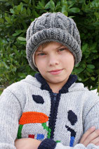 Gray Benny Beanie /Hat- Boy