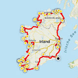 """Irland - GPX Route - """"Explore Ireland"""""""